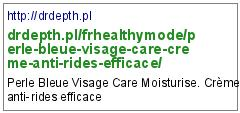 http://drdepth.pl/frhealthymode/perle-bleue-visage-care-creme-anti-rides-efficace/